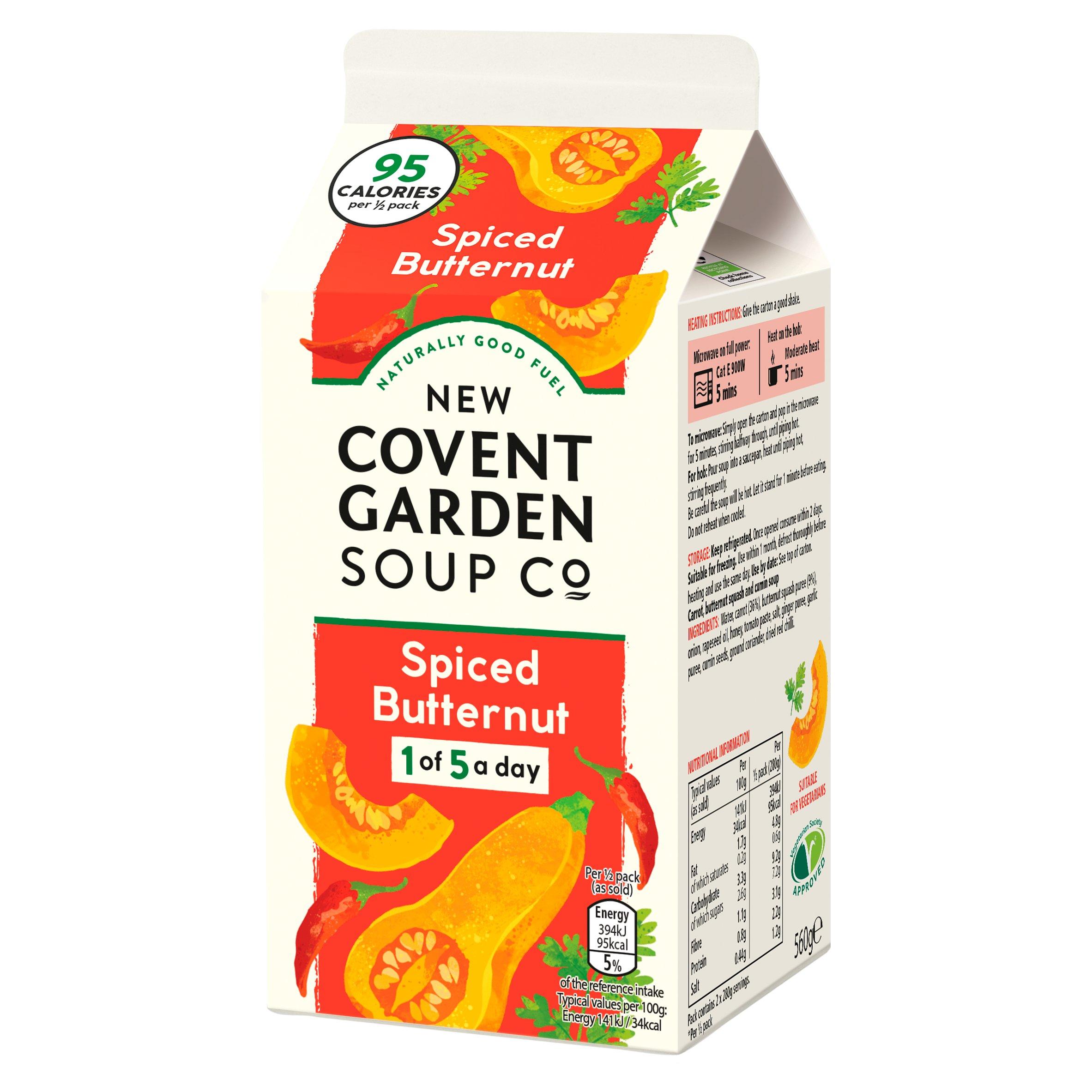New Covent Garden Spiced Butternut Soup 560G