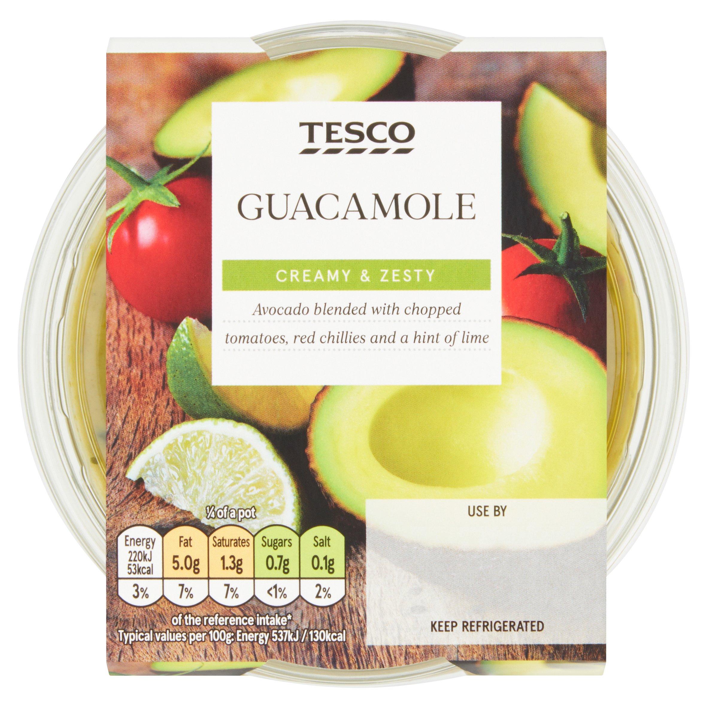Tesco Guacamole 163G
