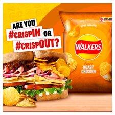 image 2 of Walkers Roast Chicken Crisps 6X25g