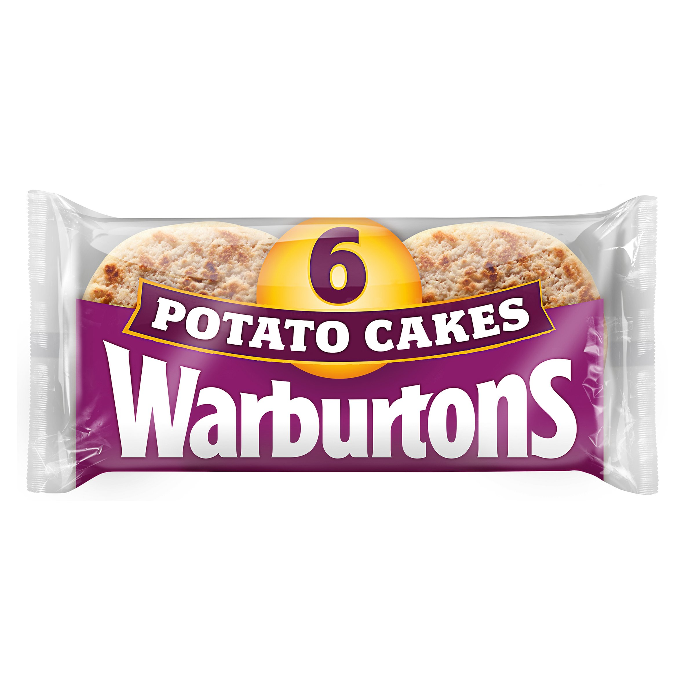Warburtons Potato Cakes 6 Pack
