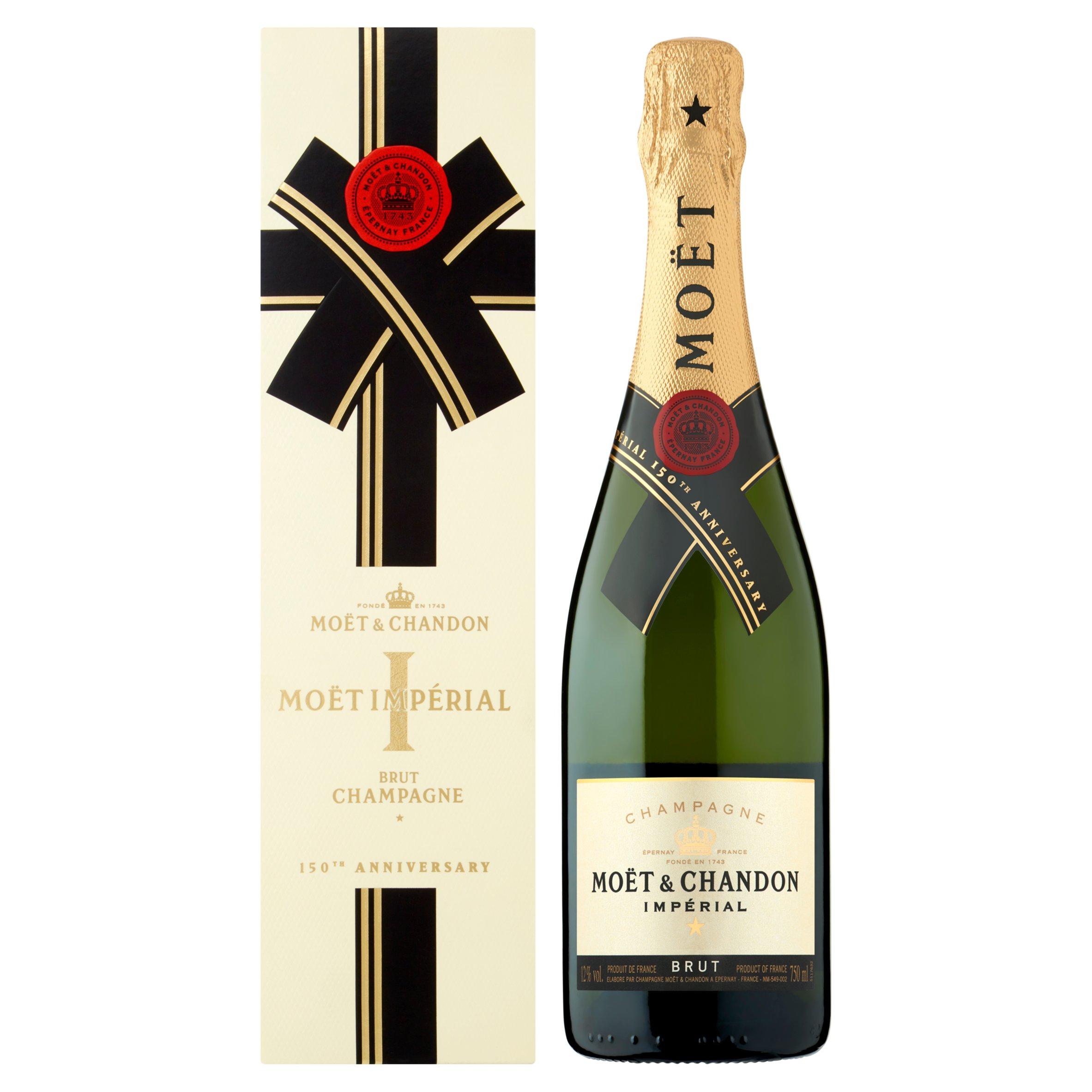 Moet & Chandon Brut Imperial Non Vintage Champagne 75Cl