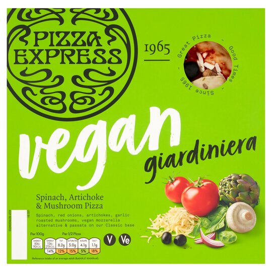 Pizza Express Giardiniera Vegan Pizza 272g