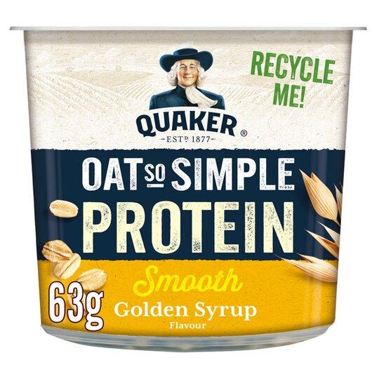 Quaker Protein Golden Syrup Porridge 63G