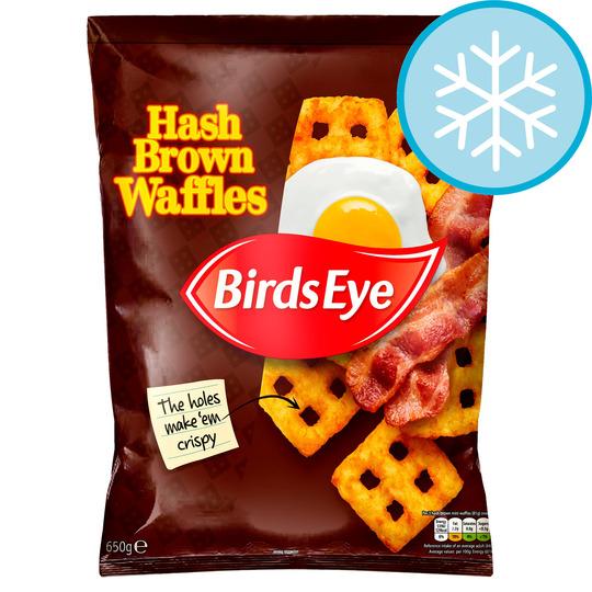 Birds Eye Hash Brown Waffles 650G