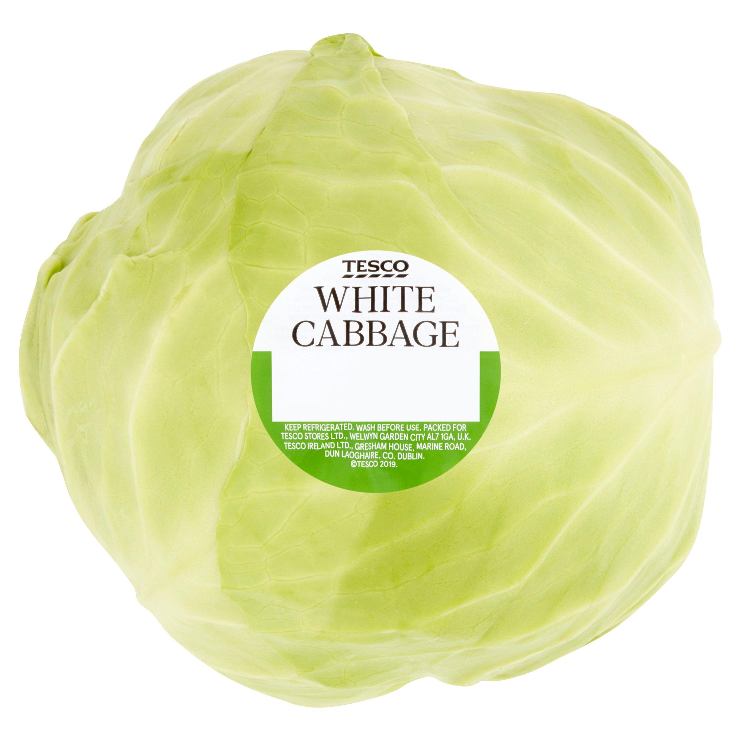 Tesco White Cabbage