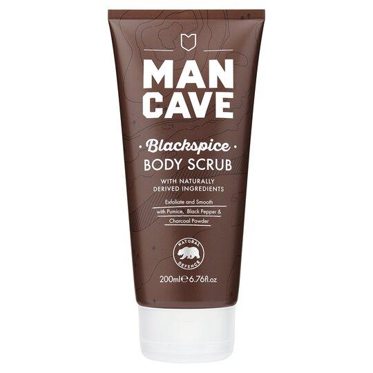 Man Cave Blackspice Body Scrub 200Ml