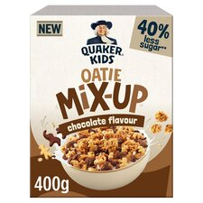 image 3 of Quaker Kids Oatie Mix Up Chocolate Cereal 400G