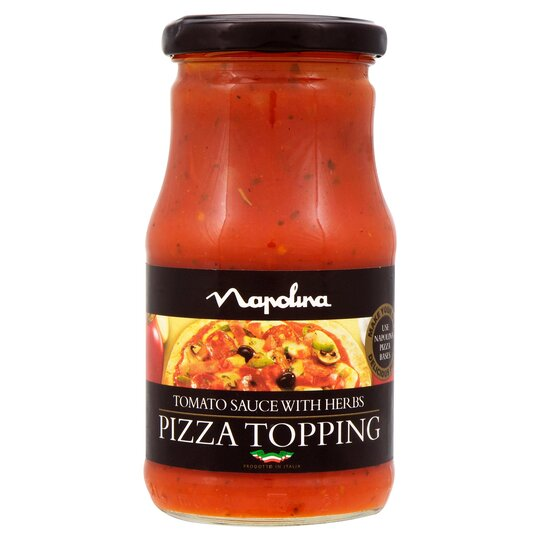 Napolina Pizza Topping Tomato Herb 300g