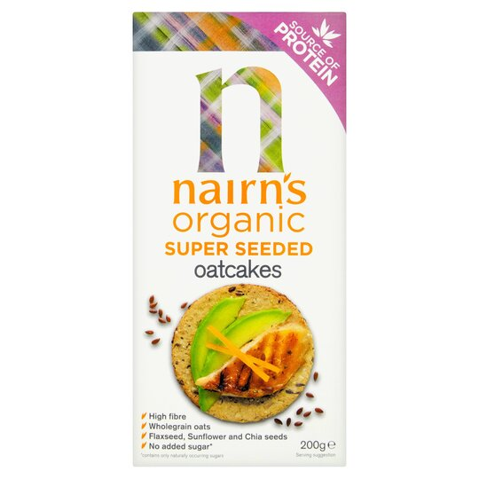 Nairn's Super Seeded Oatcakes 200G