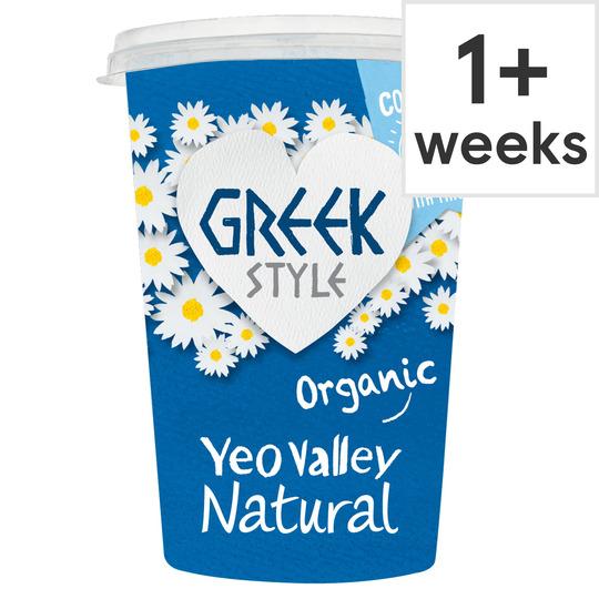 Yeo Valley Greek Style Natural Yogurt 450G