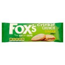 image 1 of Fox's Crinkles Ginger 200G