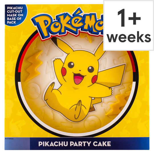 Terrific Pokemon Celebration Cake Tesco Groceries Personalised Birthday Cards Bromeletsinfo