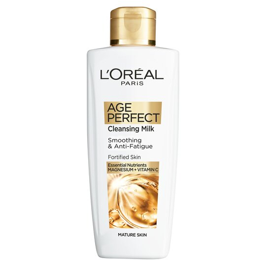 image 1 of L'oreal Paris Age Perfect Cleansing Milk 200Ml