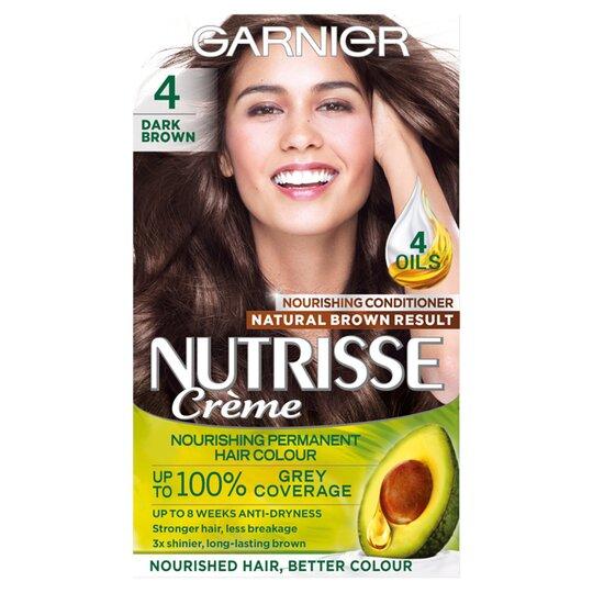 Garnier Nutrisse 4 Dark Bd Permanent Hair Dye