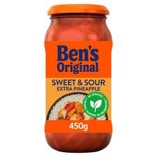 image 1 of Bens Original Sweet & Sour Extra Pineapple Sauce 450G