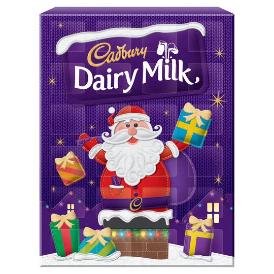Cadbury Dairy Milk Advent Calendar 90G