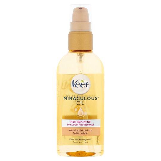Veet Miraculous Oil 100Ml
