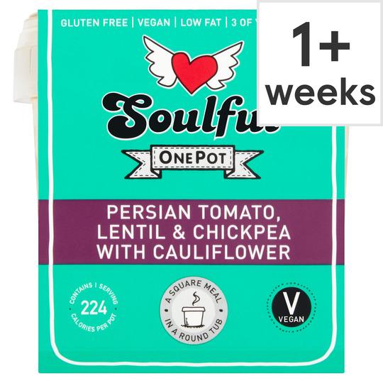 Soulful Persian Tomato Lentil & Chickpea 380G