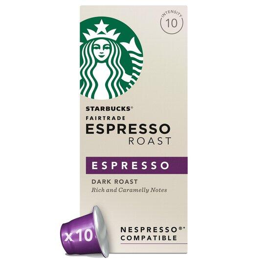 Starbucks Espersso Coffee Pods X 10 Tesco Groceries
