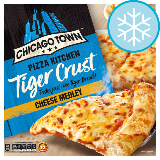 Chicago Town The Pizza Kitchen Cheese Medley 350g