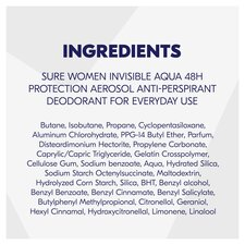 image 2 of Sure Women Crystal Aqua Antiperspirant Deodorant 250Ml