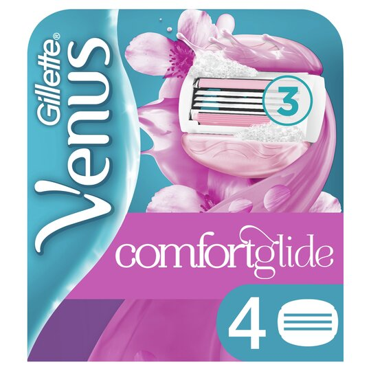 image 1 of Gillette Venus Comfort Glide Blade 4 Pack