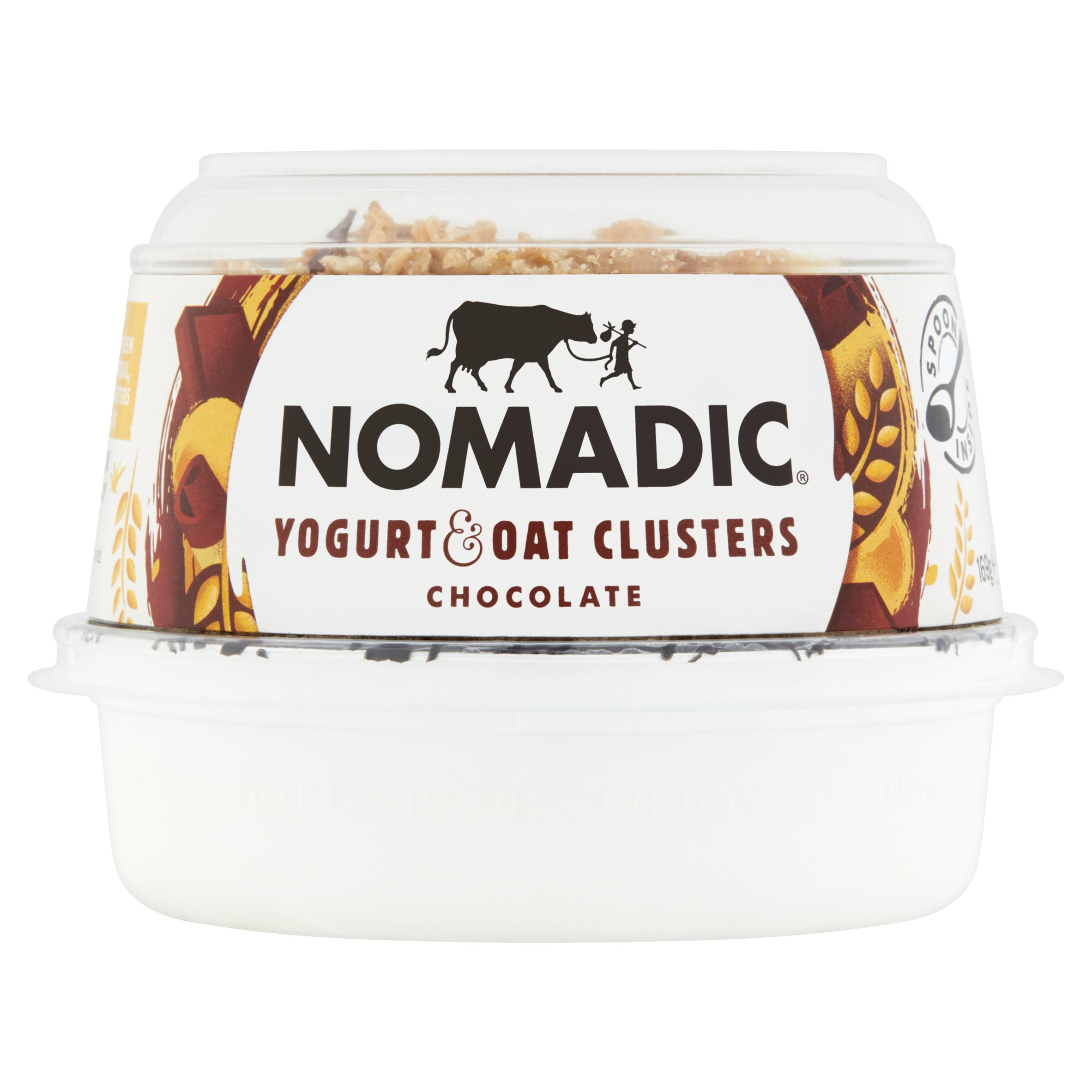 Nomadic Oats Chocolate & Natural Yogurt 169G