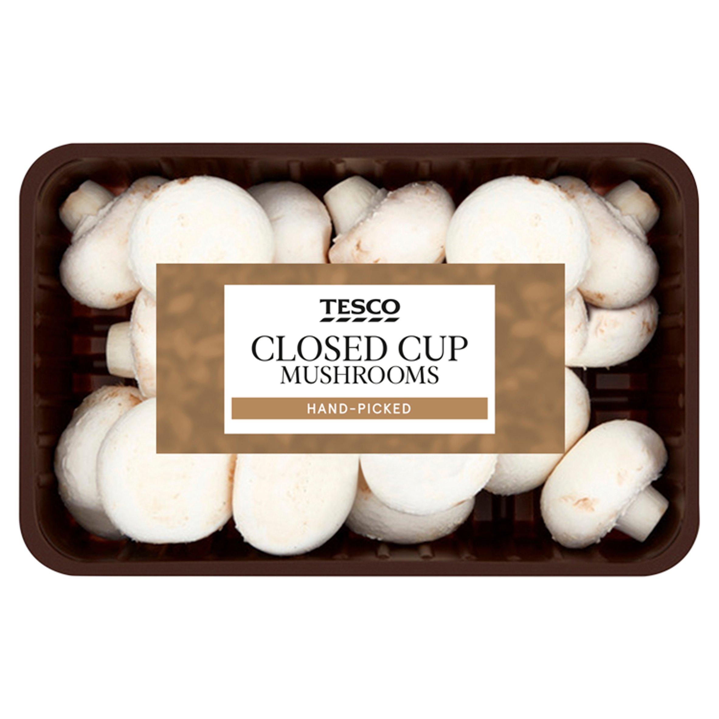 Tesco Family Pack Mushrooms 625G