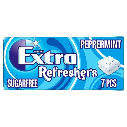 Wrigleys Extra Refresher's Gum Peppermint 7 Pieces