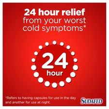 image 4 of Sudafed Headache Day & Night Capsules 16'S