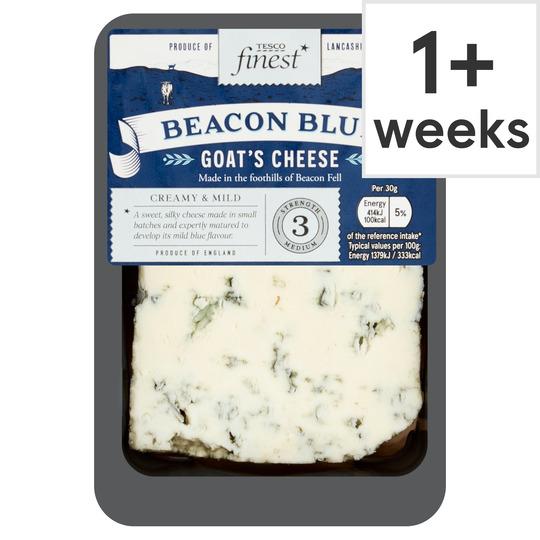 Tesco Finest Beacon Blue Goats Cheese 150G