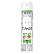 image 1 of Lynx Africa Antiperspirant Deodorant Spray 250Ml