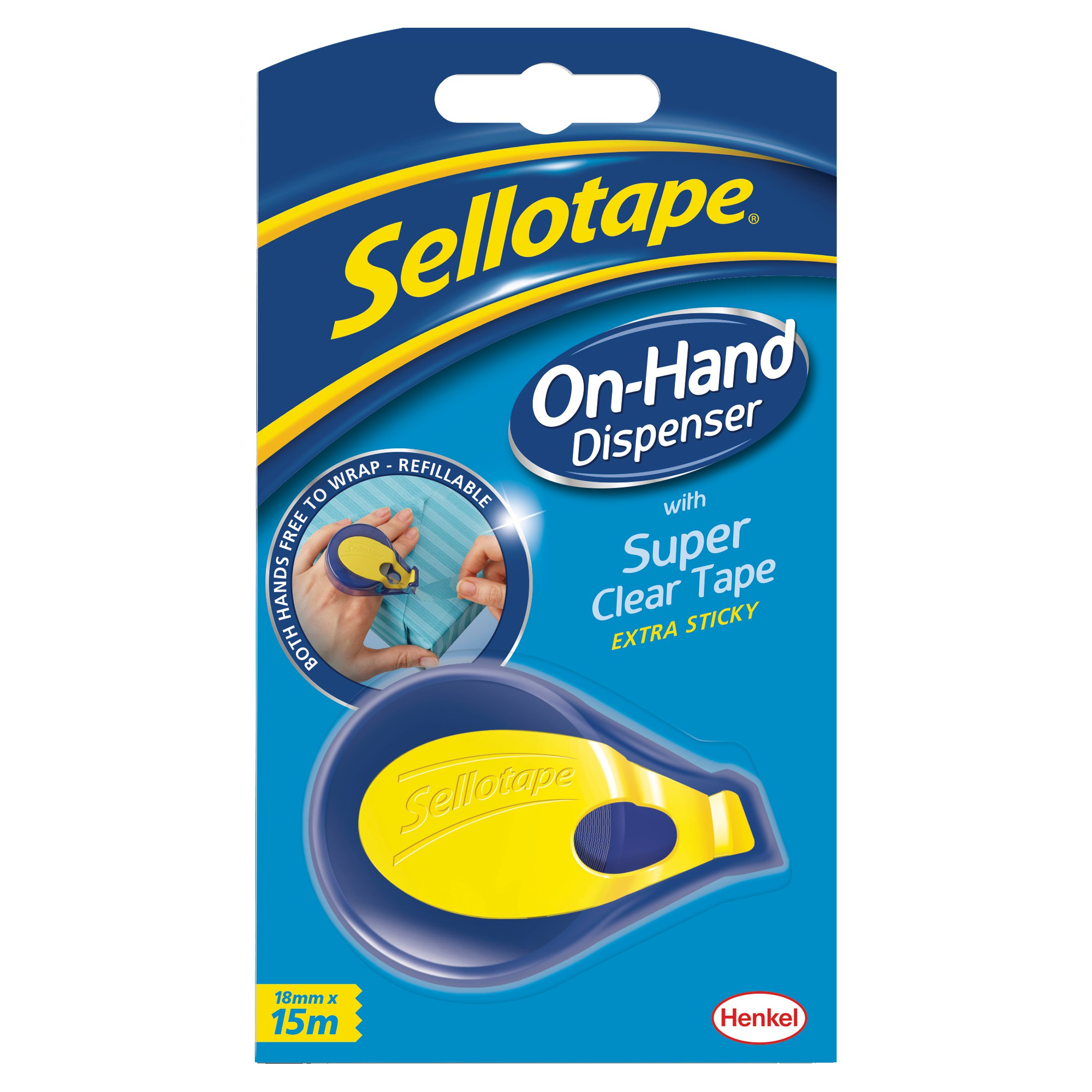 Sellotape On Hand Dispenser