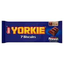 image 1 of Yorkie Milk Chocolate Biscuits 7 Pack 171.5G