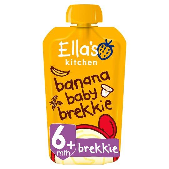 Ella's Kitchen Organic Banana Baby Brekkie 100G