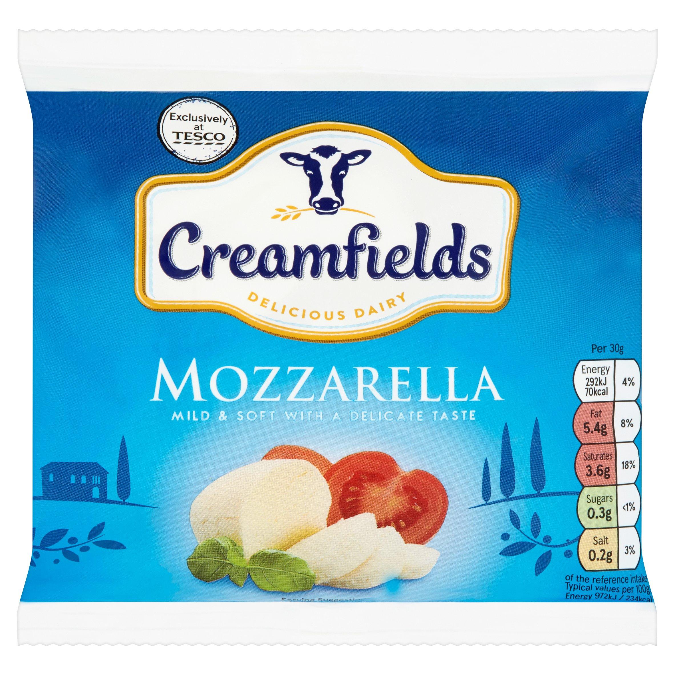 Creamfields Mozzarella 210G