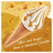 image 3 of Cornetto Soft Salted Caramel Ice Cream 4 Pack 560Ml