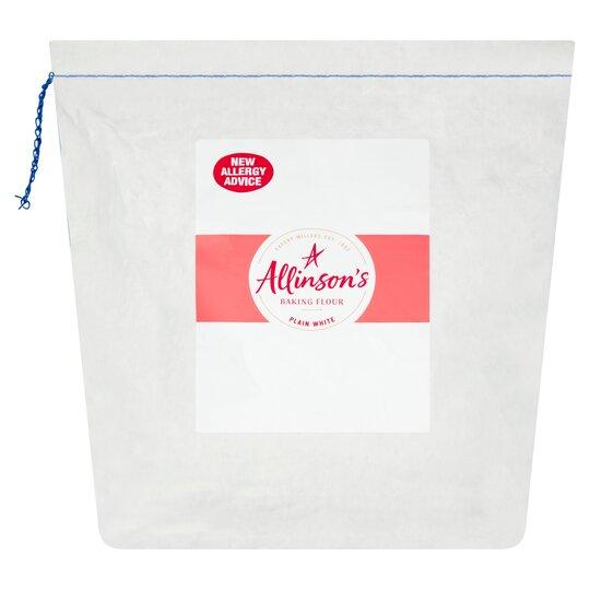Allinson's Plain White Baking Flour 4Kg