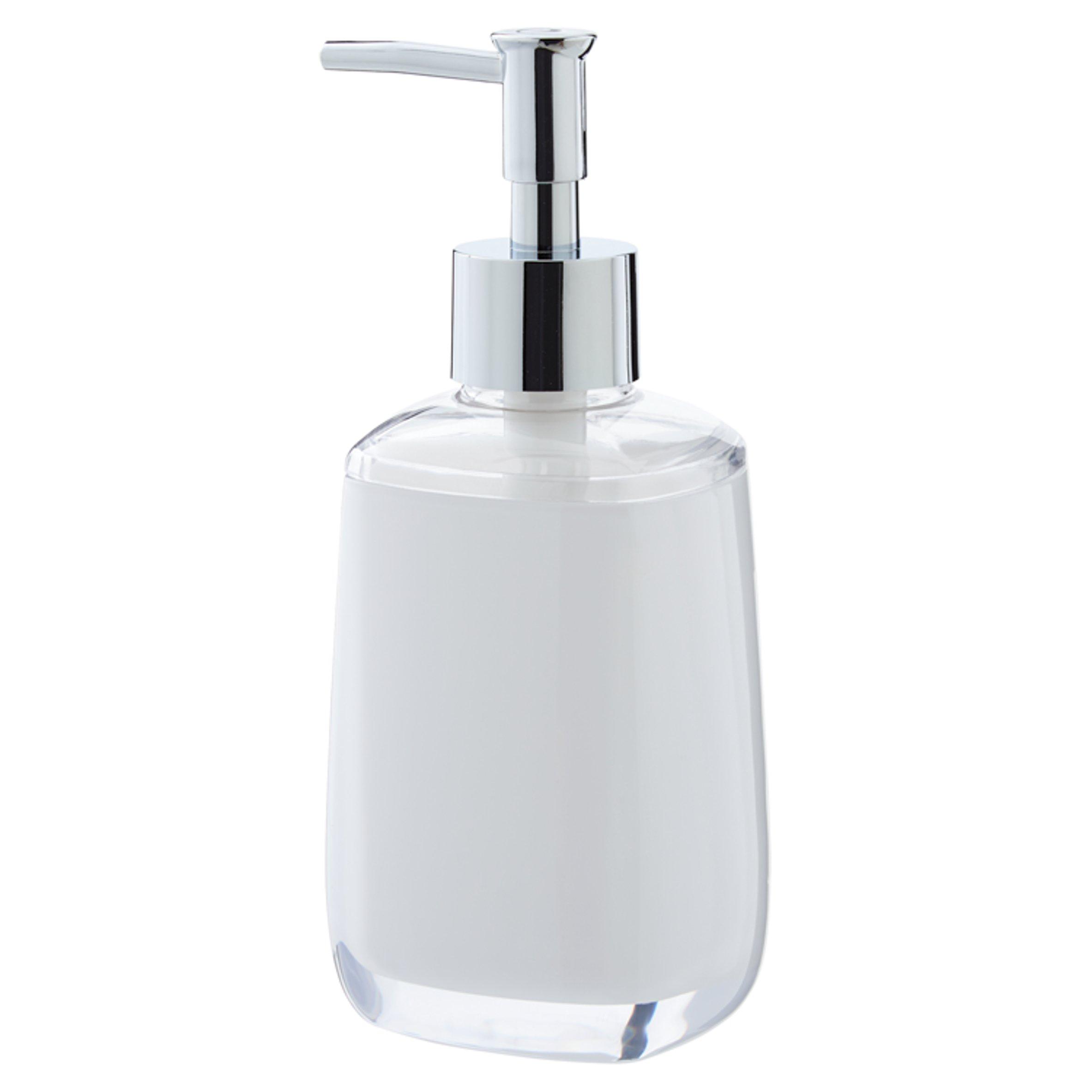 Tesco Cube Soap Dispenser White - Tesco