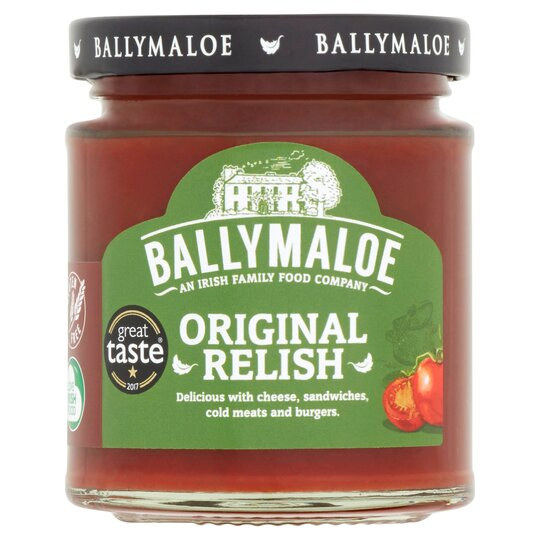 Ballymaloe Original Relish 210g Tesco Groceries