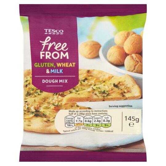 Tesco Free From Dough Mix 145g Tesco Groceries