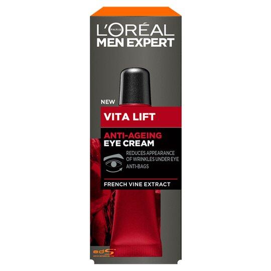 image 1 of L'oreal Men Expert Anti Ageing Eye Cream 15Ml