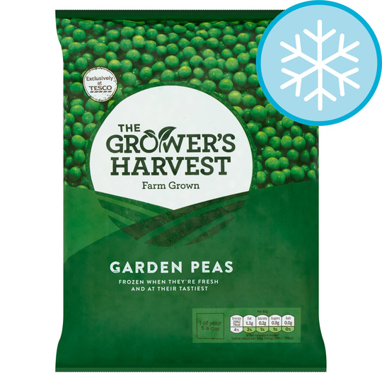 Grower's Harvest Garden Peas 900G
