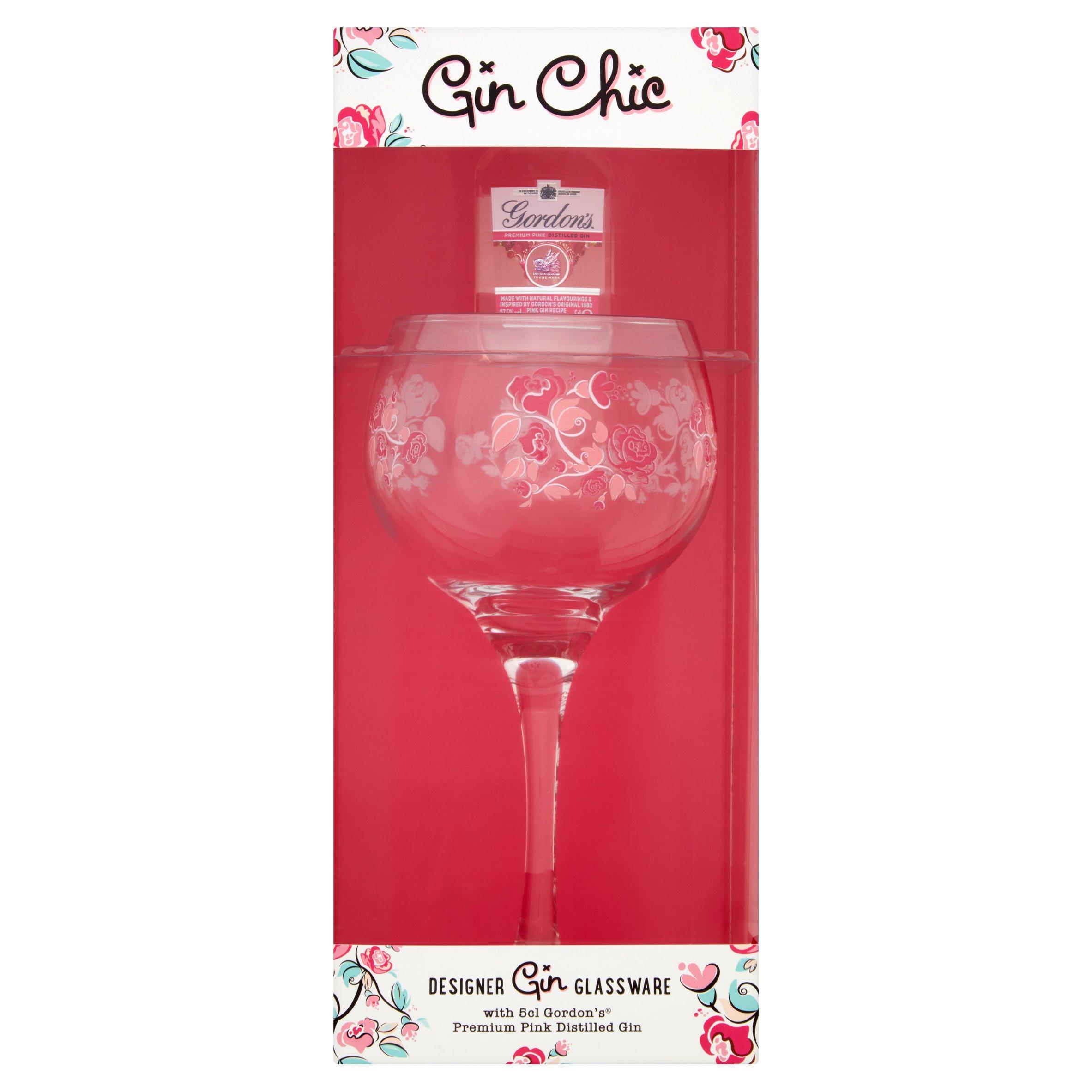 Gin Chic Glass Gift Set