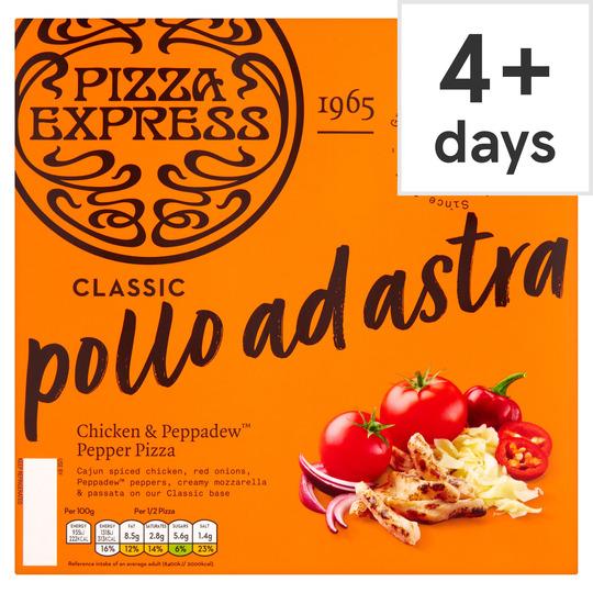Pizza Express Classic Pollo Ad Astra Pizza 290G