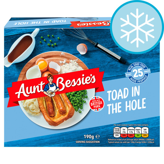 Aunt Bessie's Toad In The Hole 190G