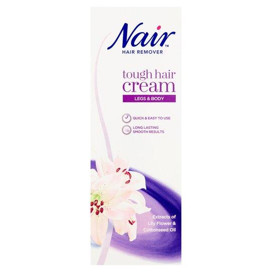 Nair Tough Hair Cream Tesco Groceries