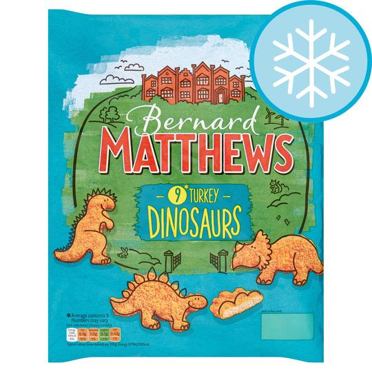 Bernard Matthews Turkey Dinosaurs 450G