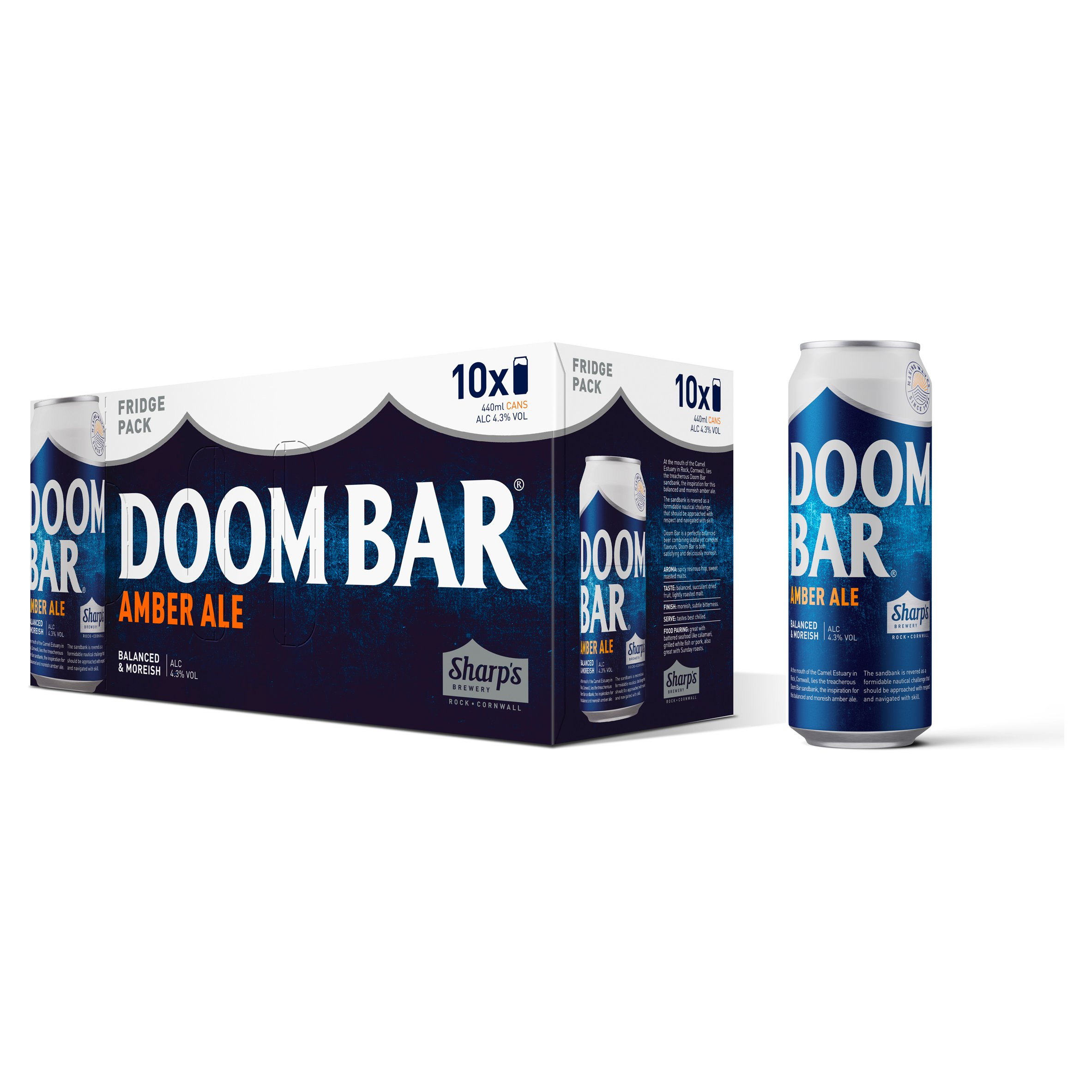 Sharps Doom Bar Amber Ale 10X440ml