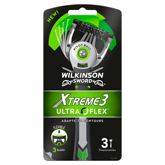 Wilkinson Sword Xtreme 3 Ultra Flex Razor 3 Pack